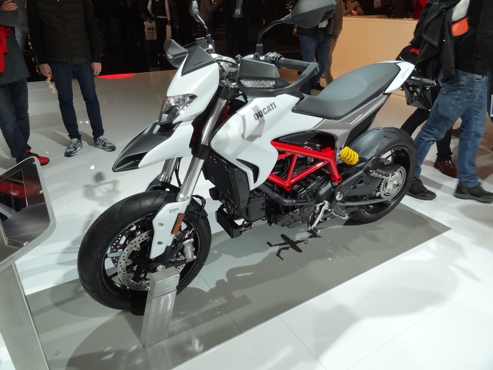 En direct du Salon de Milan 2015 : Ducati Hypermotard 939, SP et Hyperstrada
