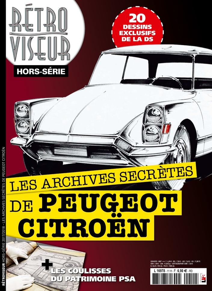 Rétroviseur propose une plongée dans les archives de Citroën et Peugeot