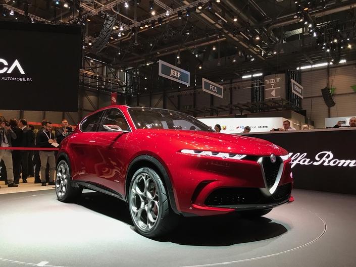 Alfa Romeo Tonale : on le veut ! - Vidéo en direct du salon de Genève 2019