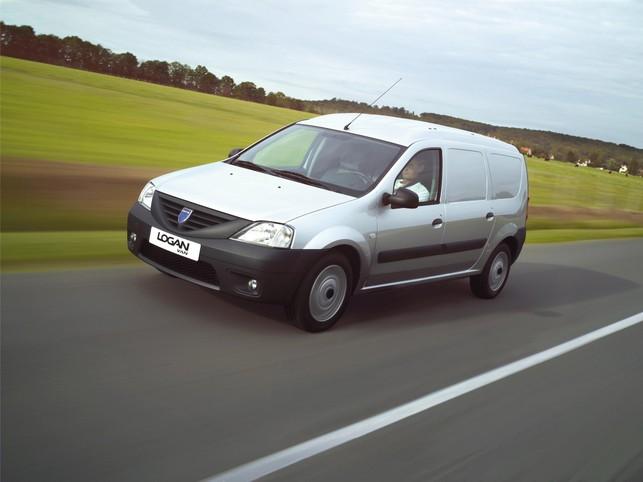 Utilitaires Dacia : signature eco² pour les Logan van et pick-up