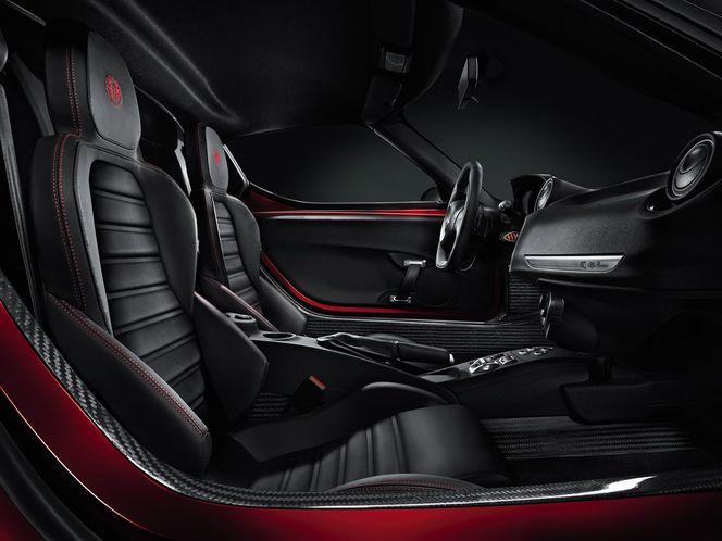 Genève 2013 : L'Alfa Romeo 4C vue de l'intérieur