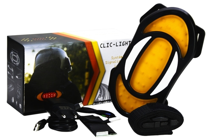 Clic-Light remet à jour son troisième feu-stop additionnel