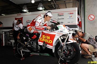 Moto GP - Honda: Michelin parle de la moto de Nakano