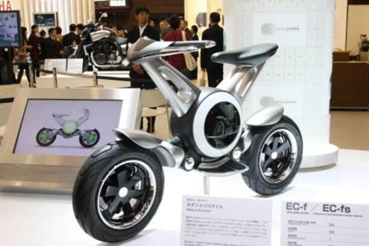 Tokyo motor show : Yamaha EC-f et EC-fs