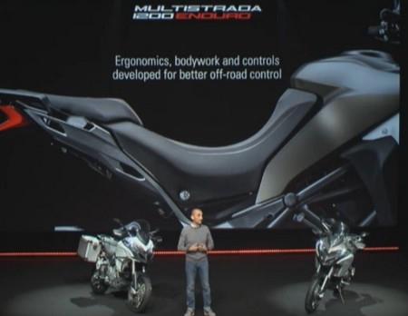 En direct du Salon de Milan 2015 : Ducati Multistrada 1200 Enduro