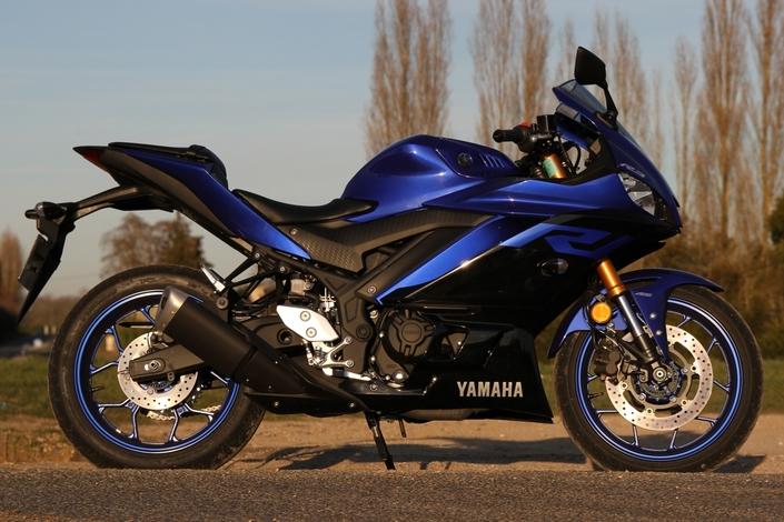 Essai Yamaha YEF R3 mod. 2019