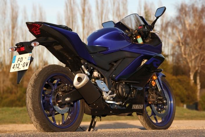 Essai Yamaha YZF R3 mod. 2019
