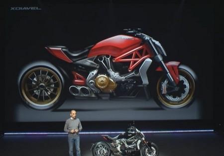 En direct du Salon de Milan 2015 : Ducati XDiavel
