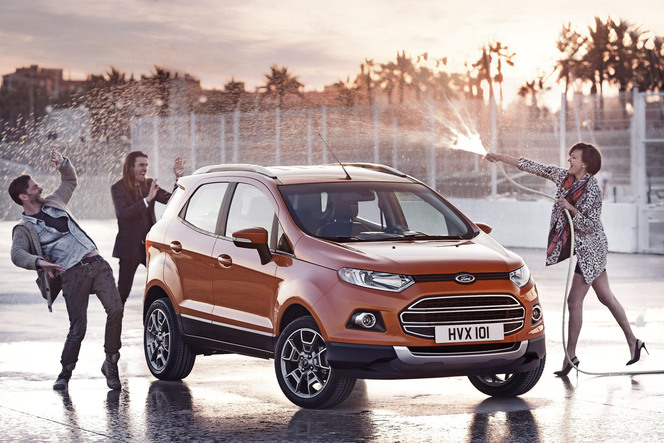 Genève 2013 et Barcelone : Ford montre la version européenne de l'EcoSport