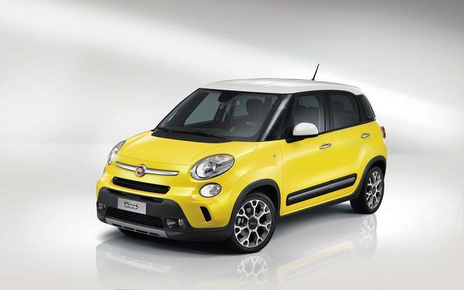Genève 2013 : Fiat 500L Trekking de série