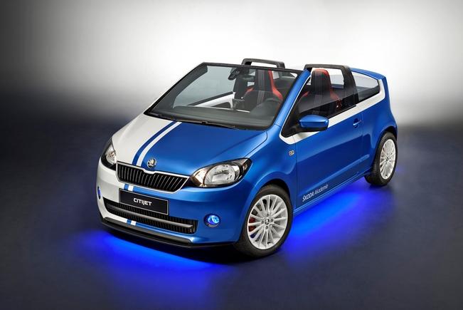 Concept Skoda Citijet : Citigo et cabriolet
