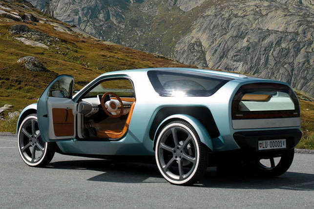 Une auto hybride rétro et futuriste : la Mindset E–Motion