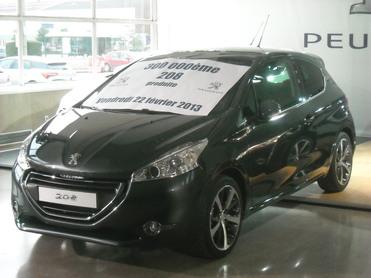 Déjà 300 000 Peugeot 208 produites