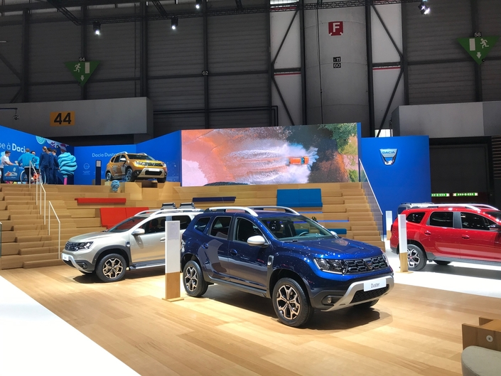 Dacia : montée en gamme avec la série limitée Techroad – En direct du salon de Genève 2019