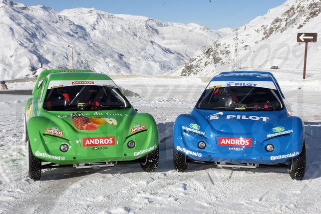 Véhicules électriques au Trophée Andros : l'Andros Car 03 et la moto Quantya
