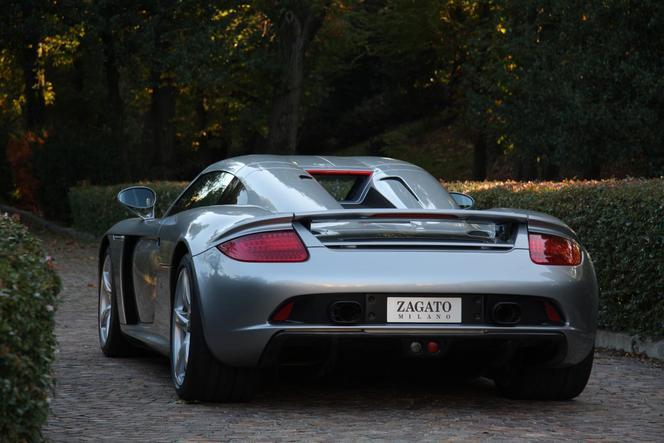 Porsche Carrera GT par Zagato : pour devenir unique