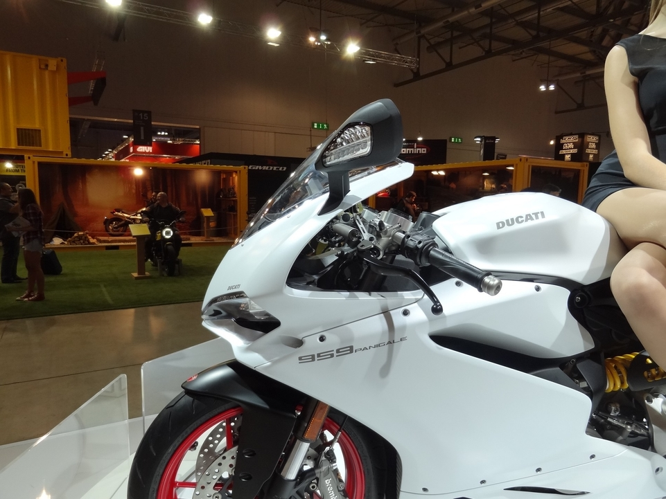 En direct du Salon de Milan 2015 : Ducati Panigale 959