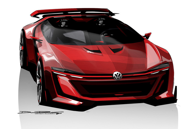 GTI Roadster Concept : la supercar selon Volkswagen