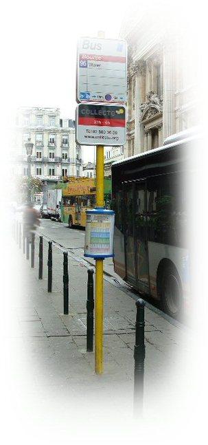 Un service de taxis collectifs à Bruxelles