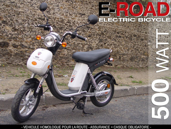 Le scooter électrique E-ROAD signé BHM Team Motorcycle