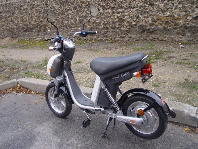 Le scooter électrique E-ROAD signé BHM Team Motorcycle