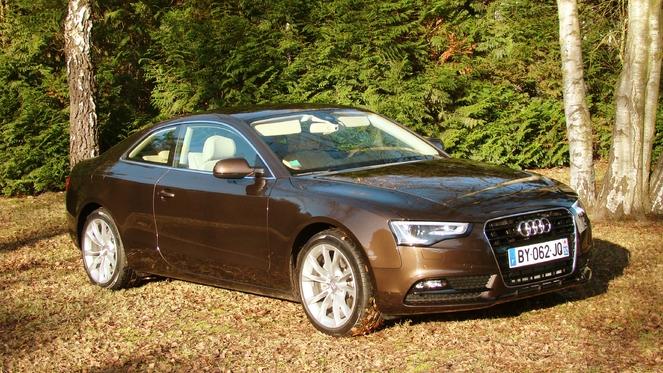 Essai - Audi A5 restylée : air de famille et sobriété comme leitmotiv