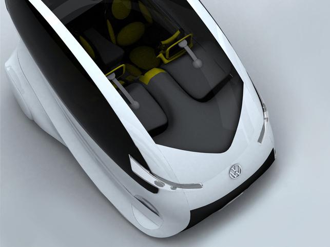 Le concept-car Volkswagen Citizen ? Une vitrine technologique intéressante