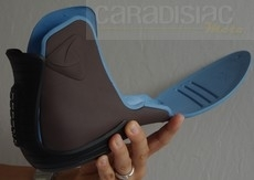 Essai Vitesse Glove: une botte lookée mais aussi technique.