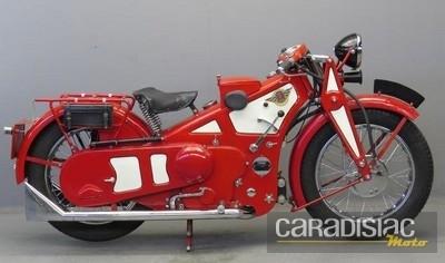 Les motos.