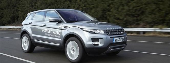 Land Rover: une nouvelle transmission auto à 9 rapports