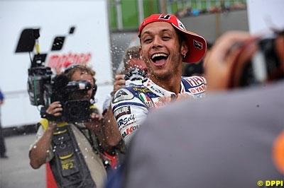 Moto GP - San Marin: Rossi ne se relâchera pas