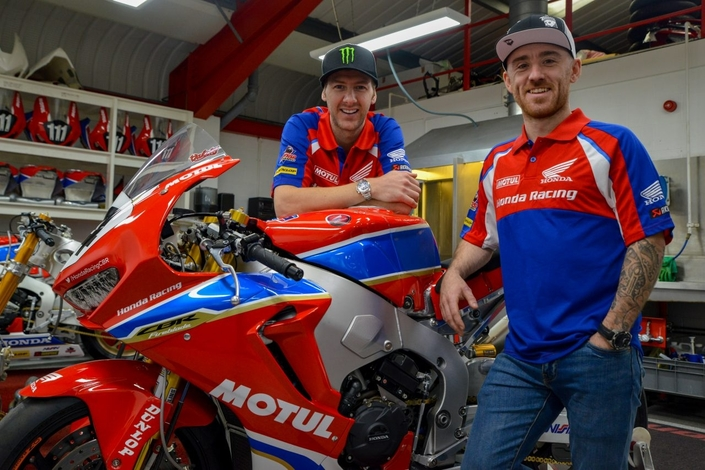 Road Racing 2018: Ian Hutchinson et Lee Johnston dans le team Honda Racing