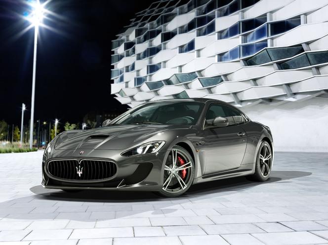 Salon de Genève 2013 - La Maserati Granturismo MC Stradale arrive