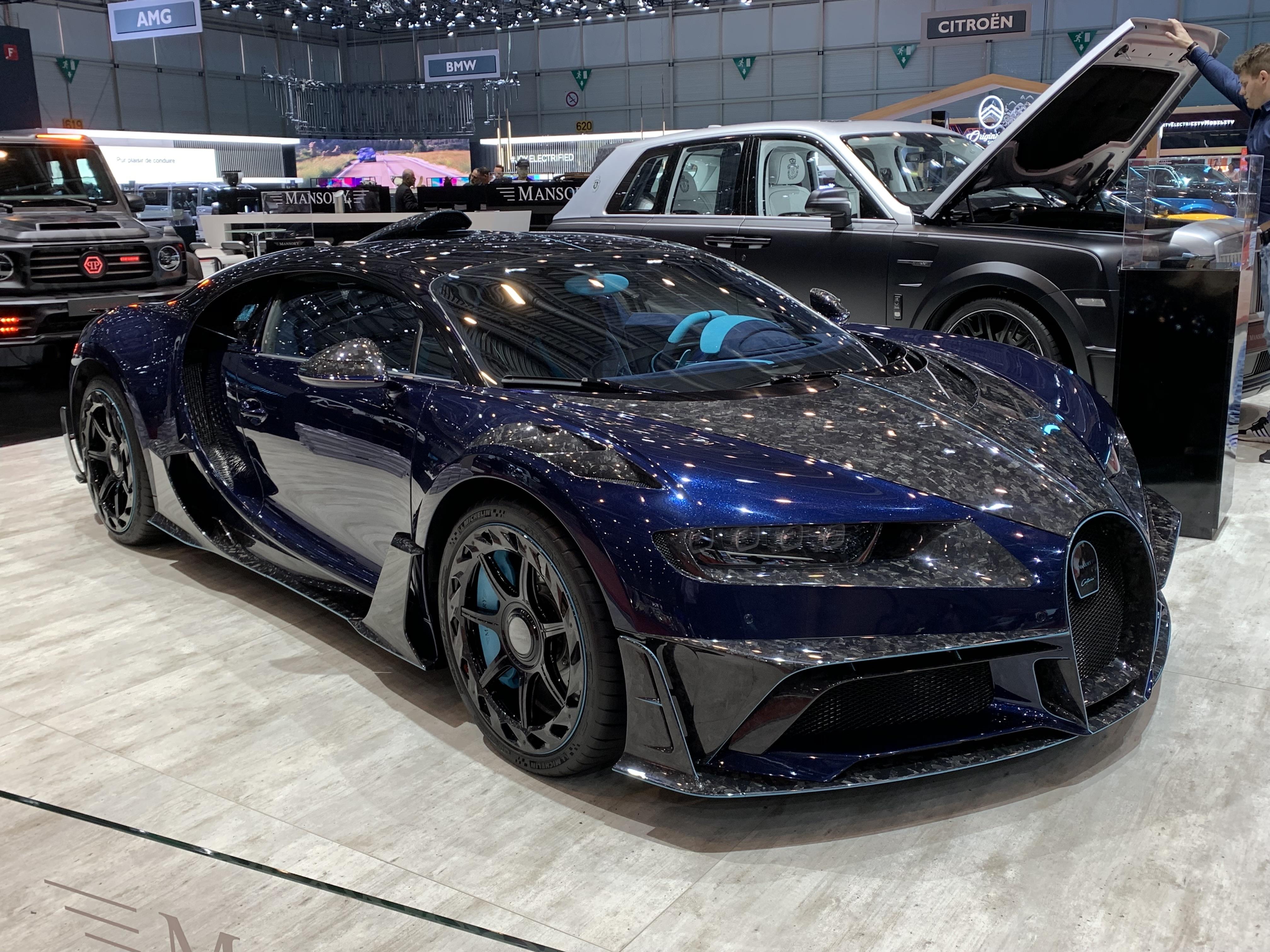 ecb33bbd8b Voici votre voiture la plus moche du Salon de Genève 2019