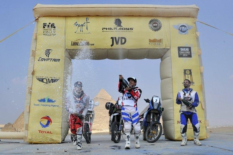 Rallye des Pharaons : 6ème étape, la première pour Barreda