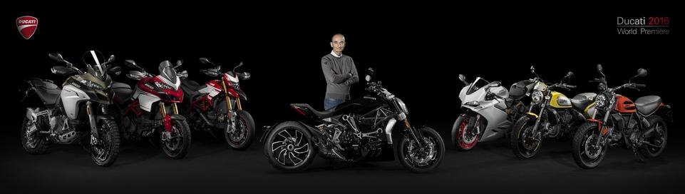 En direct du Salon de Milan 2015 : Ducati, les prix et les dispos