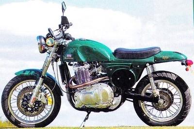 Metisse : la réplique de la moto de Steve McQueen…et plus encore.
