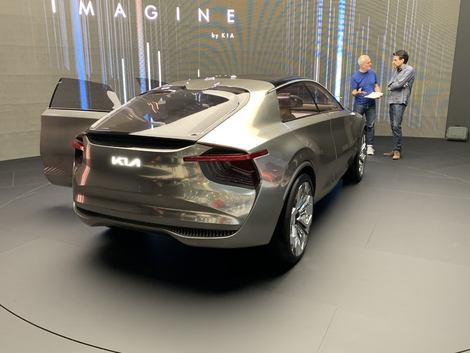 Kia Imagine Concept : sans saveur - En direct du Salon de Genève 2019