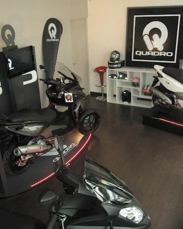 Actualité: le premier Pro-shop Quadro s'ouvre à Levallois