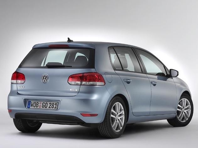 Salon de Bologne 2008 : la Volkswagen Golf BiFuel