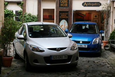Comparatif Mazda 2 1.4 MZ-CD / Suzuki Swift 1.3 DDIS: fashion victim