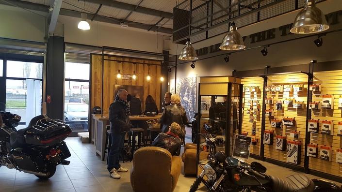 Harley-Davidson ouverture une nouvelle concession à Tours