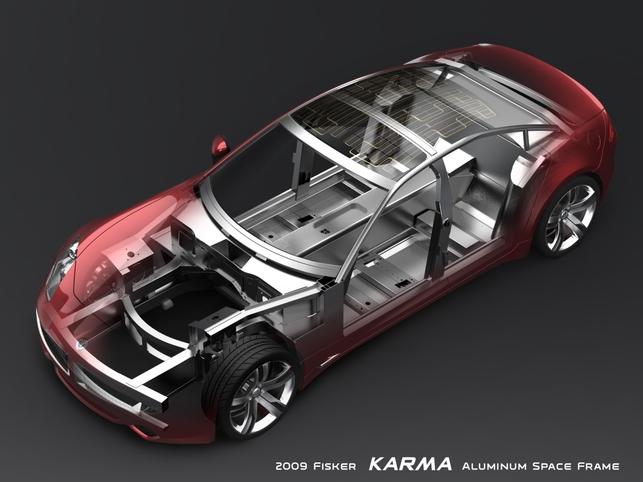 D'autres photos de la Fisker Karma hybride !