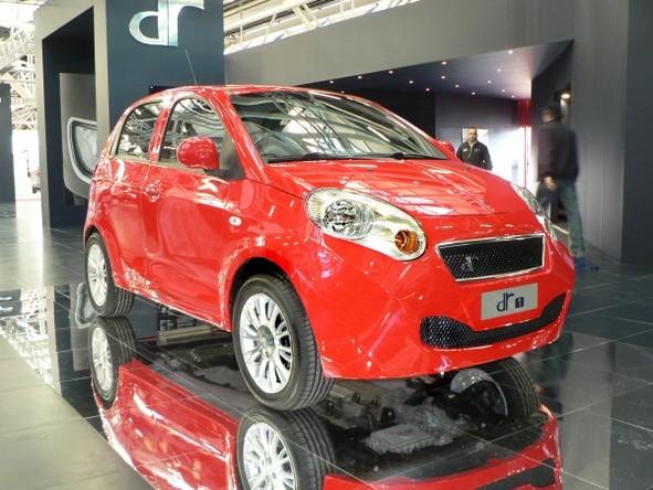 Salon de Bologne 2008 : la DR1 de DR Motor