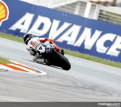 Moto GP - Malaisie D.1: Lorenzo le roc veut oublier les gravillons