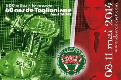 Le Ducati Club de France s'installe au Vigeant du 8 au 11 mai; le programme à ne pas manquer.