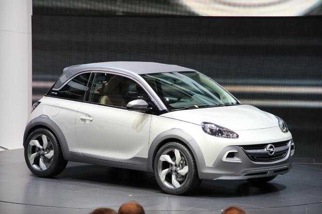 Vidéo :en direct du salon de Genève - Opel Adam Rock Concept : future découvrable