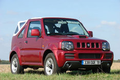 suzuki jimny le 4x4 cabriolet. Black Bedroom Furniture Sets. Home Design Ideas