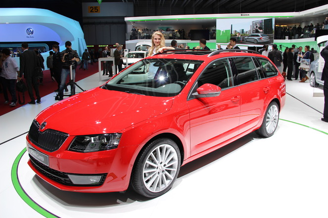 En direct du salon de Genève - Skoda Octavia 3 Combi : du volume