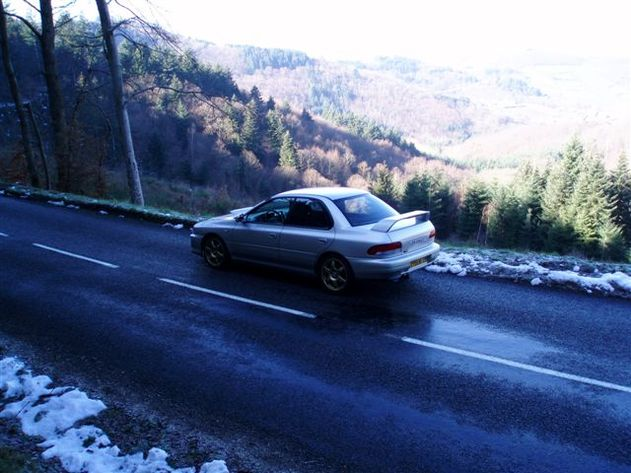 Road Book : Virée dans les Monts du Lyonnais en Subaru..